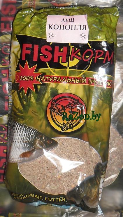конопля прикормка для рыбы