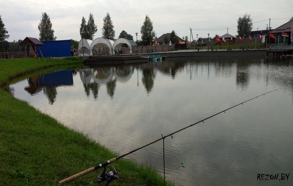 Мечта рыбака в Логойском р-не