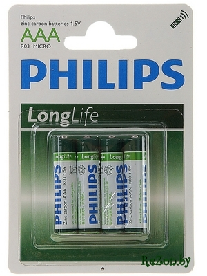 Pihilips AAA R03/4BL Long Life