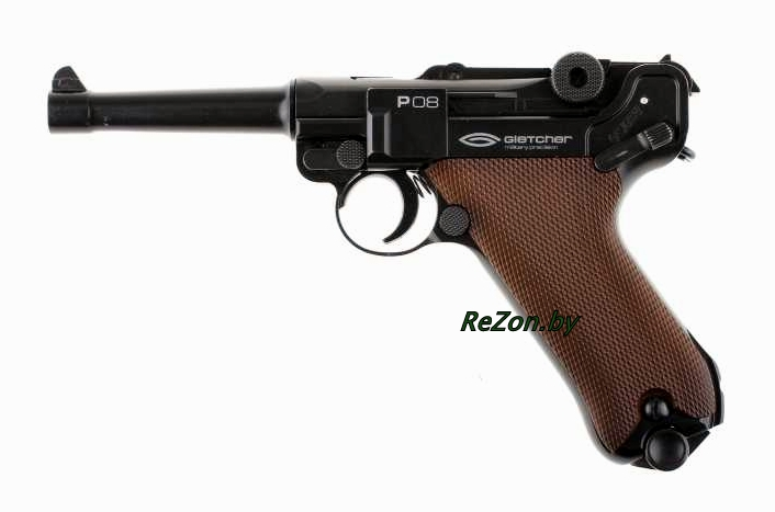 Gletcher P08 Parabellum Blowback