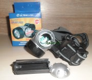 Ultraflash Headlite LED5352 на батарейках